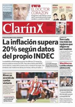 Tapa Clarin fecha 2011-09-25